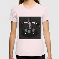 Darth Vader - Starwars Womens Fitted Tee Light Pink SMALL