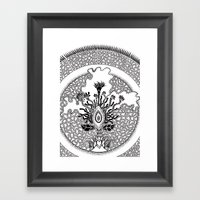 Semilla Framed Art Print
