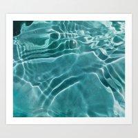 Water H2O Art Print