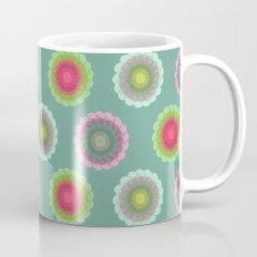 transparent floral pattern 3 Mug