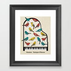 Messiaen - Catalogue d'Oiseaux Framed Art Print