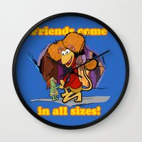 Friends Come In All Size… Wall Clock