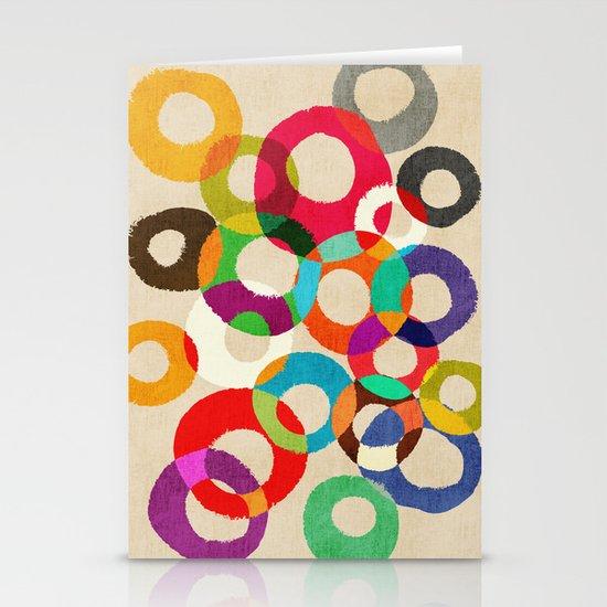 Loop Hoop Stationery Card