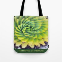 Patterns of Nature - succulent I Tote Bag
