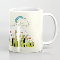 Flower Dress Mug