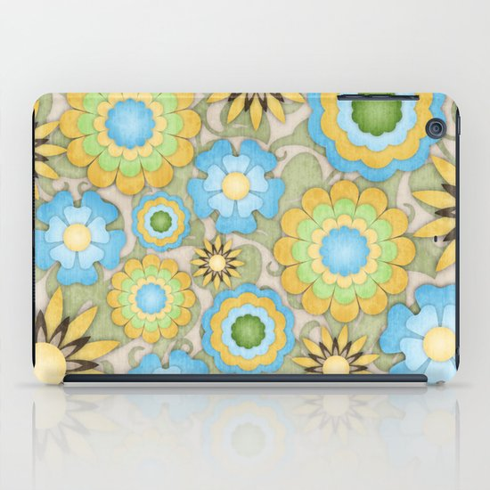English Country Floral iPad Case
