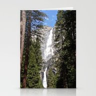 Yosemite Falls Stationery Cards