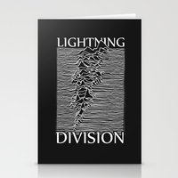 Lightning Division Stationery Cards