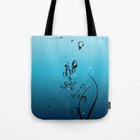 Fluid Inspiration Tote Bag