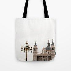 Catedral De La Almudena Tote Bag