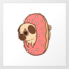 Puglie Doughnut Art Print