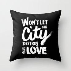 This City Throw Pillow