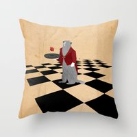 JACK OF DIAMONDS Throw Pillow