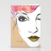Life Is A Canvas, Throw … Stationery Cards