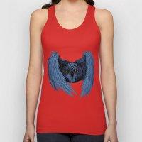 Night Owl Unisex Tank Top