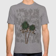 tree1 Mens Fitted Tee Athletic Grey SMALL