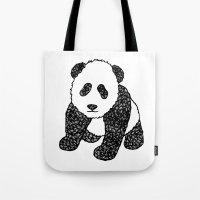 Panda Mania Tote Bag