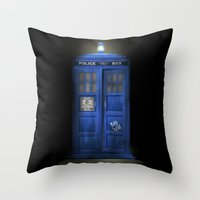 """""""Death – The Doctor�… Throw Pillow"""
