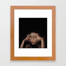 la peur Framed Art Print