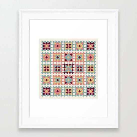 Granny's Framed Art Print
