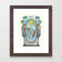 The Lord Of The Board Framed Art Print