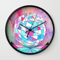 In Space. Wall Clock