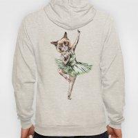 Siamese Ballerina In Cat… Hoody