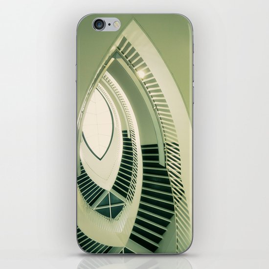 teardrop stairs iPhone & iPod Skin