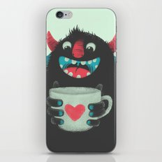 Demon With A Cup Of Coff… iPhone & iPod Skin