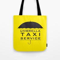 umbrella taxi service Tote Bag