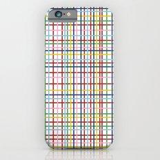 Rainbow Weave iPhone 6s Slim Case