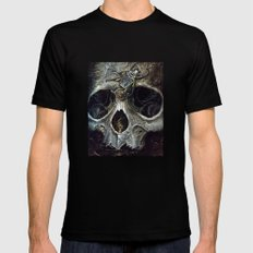 goliath skull Mens Fitted Tee Black SMALL