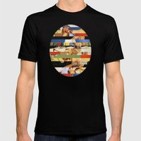 Glitch Pin-Up Redux: Jessica Mens Fitted Tee Black SMALL