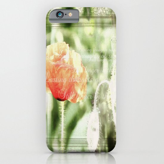 Lasting thoughts of summer iPhone & iPod Case