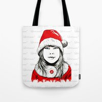 Snow-maiden Tote Bag