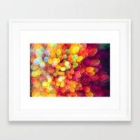 Light and Shimmer Framed Art Print