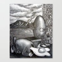Bad Egg Canvas Print