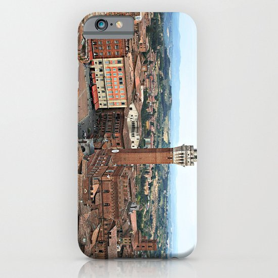 Siena, Italy from Above iPhone & iPod Case