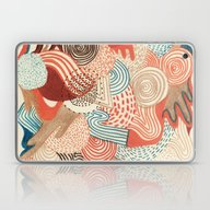 Laptop & iPad Skin featuring Melting Time by Marcelo Romero