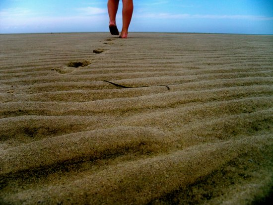 I Believe in the Sand Beneath my Toes  Art Print