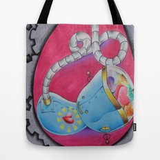Conception of a robot Tote Bag