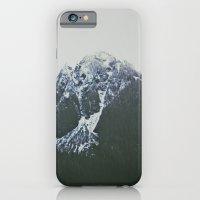 Vintage Snowy Mountain iPhone 6 Slim Case