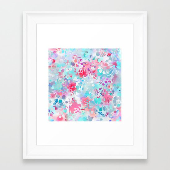 Floral Spirit 1 Framed Art Print