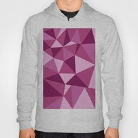 Pink Geometric Hoody