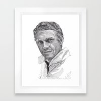 Steve Framed Art Print