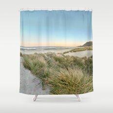 Oregon Coast Sunrise Shower Curtain