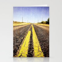 1000 Miles To No Where  Stationery Cards