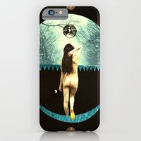 iPhone & iPod Case featuring luna abandons the dybbuk by cardboardcities