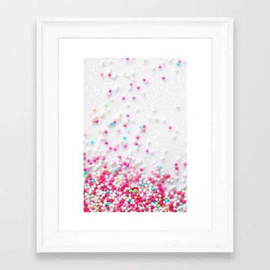 Sugarpearls Framed Art Print