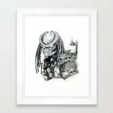 Predator. Framed Art Print